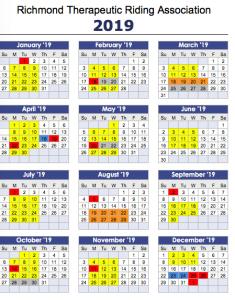 Calendar 2019 small